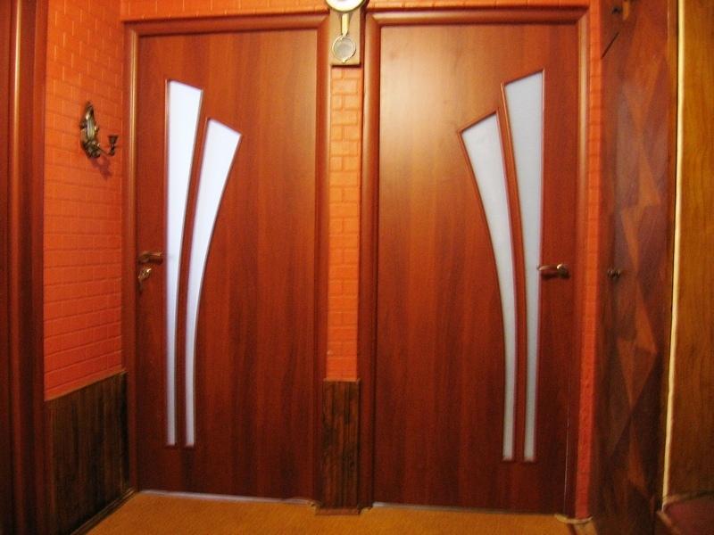 МДФ двери покрытые  ПВХ и финиш-плёнкой